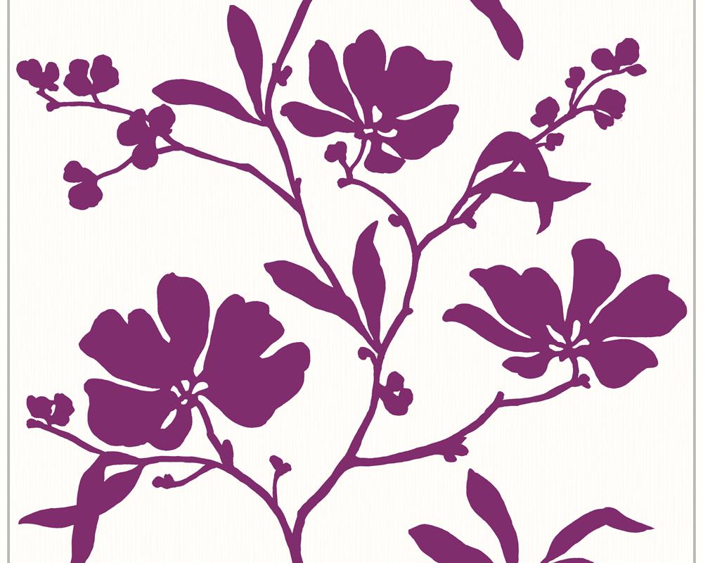Schöner Wohnen Vliestapete Wonderful Colour, Mustertapete, floral