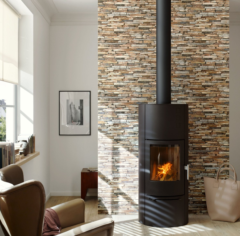 A.S. Creation Wood`n Stone Natursteinoptik, braun, beige, grau, schwarz