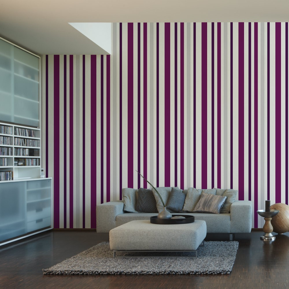 Schöner Wohnen Vliestapete Wonderful Colour, Streifentapete