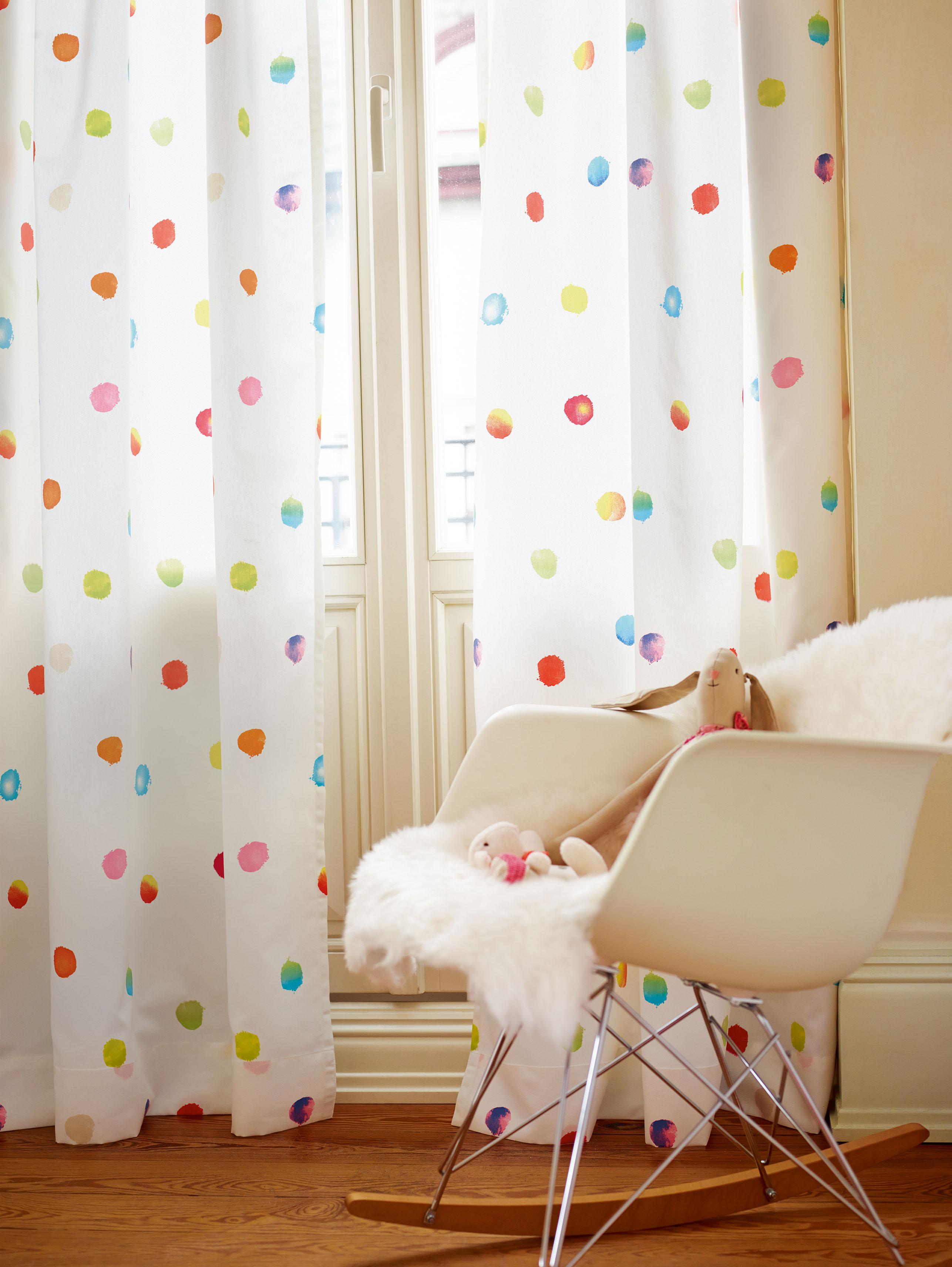 Esprit Kids Papiertapete Dots & Stripes, Streifentapete, bunt