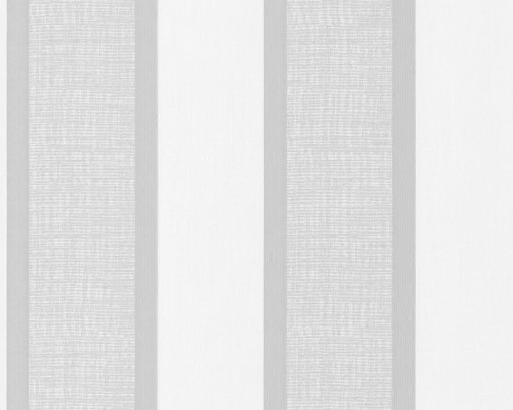 A.S. Création New England Streifentapete, beige, grau